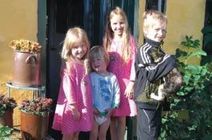 Børnevenlig bondegårdsferie